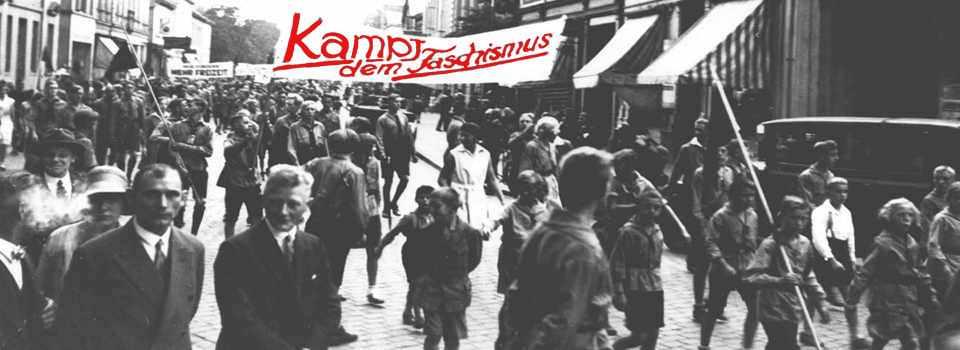 Kampf der SAJ gegen den Faschismus